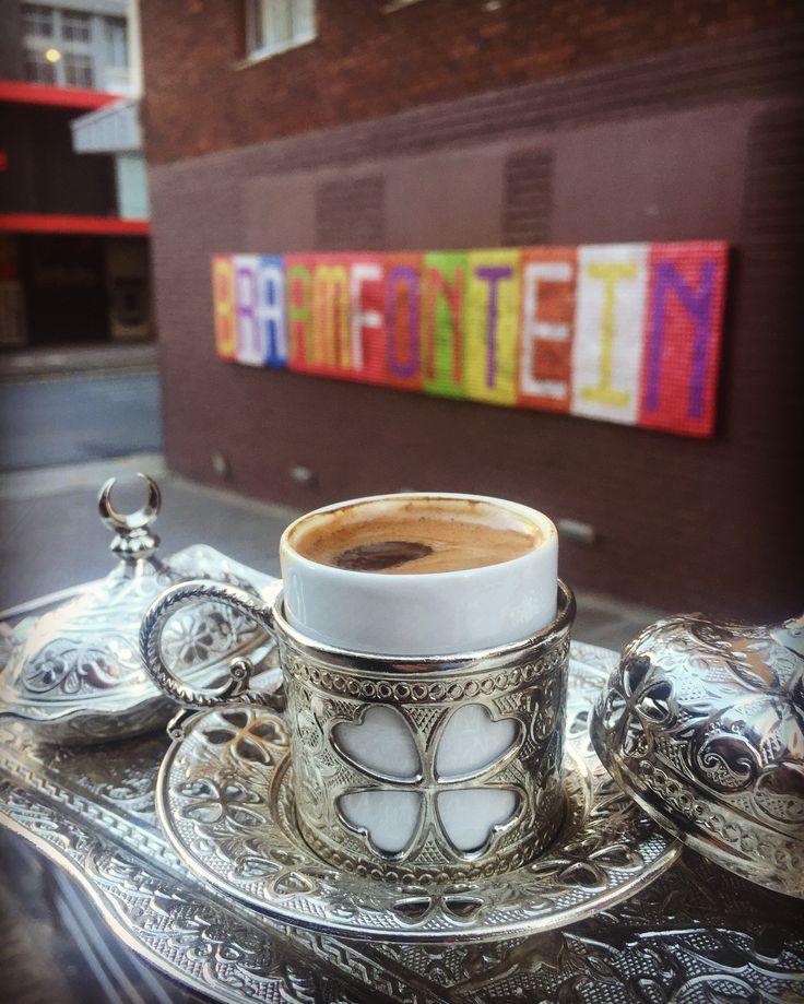 Good morning Braamfontein.  #galatabakery #Braamies #braamfontein #johannesburg #turkishcoffee #goodmorning