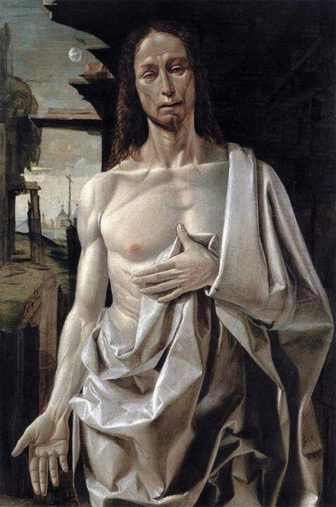'Cristo resucitado' de Bramantino, s. XVi. Museo Thyssen