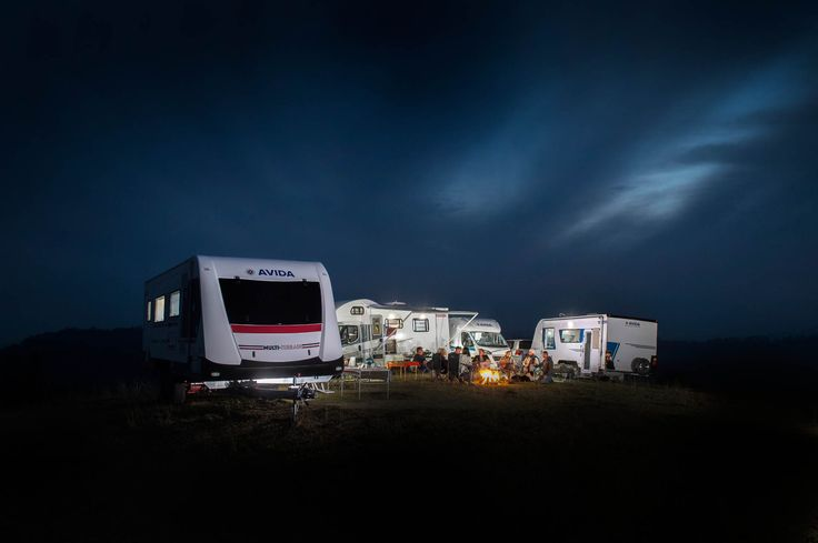 Camp in style and comfort with your Avida motorhome or caravan.