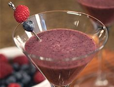 The Vegatini is a hangover smoothie developed by Peggy Kotsopoulos', and it promises to replenish mineral and hydration. Enjoy in a martini glass!