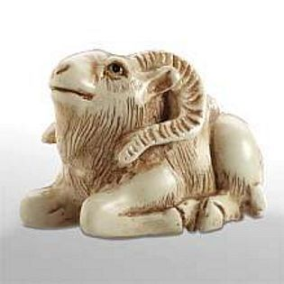 Goat - Japanese Netsuke | Museum Store Company gifts, jewelry and more