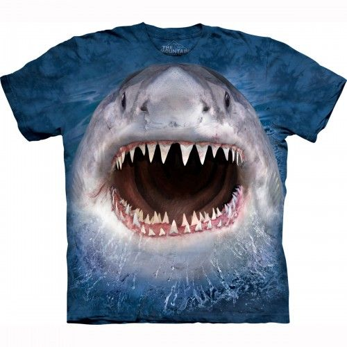 The Mountain Wicked Shark T-Shirt for adults
