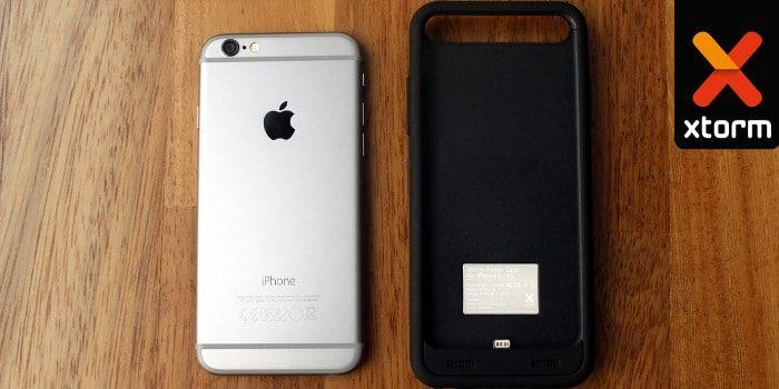 El unboxing de la funda-batería para iPhone 6 y 6s de 3100 mAh modelo AM412 de la marca Xtorm me ha causado buena impresión porque se nota que es una funda robusta pero casi no pesa.   http://iphonedigital.com/funda-bateria-iphone-6-6s-3100-mah-xtorm-am412/ #iphoneapps  #apple