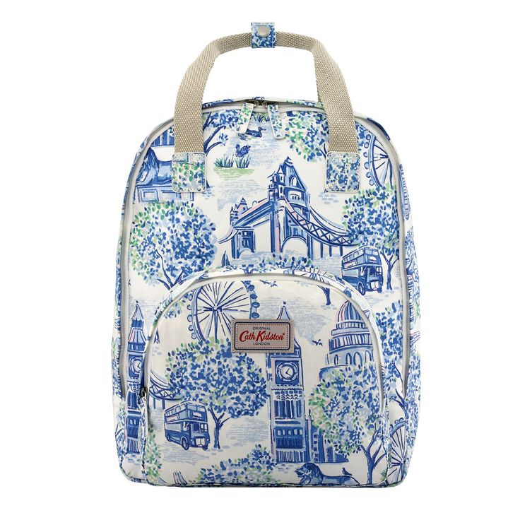 London Toile Multi Pocket Backpack | London Toile | CathKidston