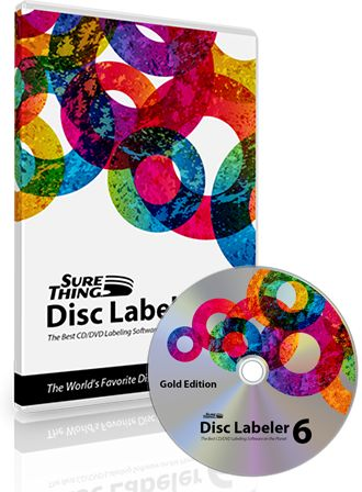 The #1 CD/DVD Cover and Label Maker Software for Windows featuring SuperVibrant CD/DVD Labels | www.surething.com
