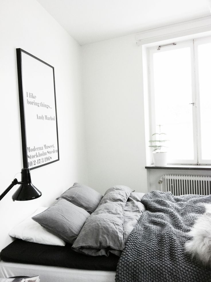All grey | bedroom
