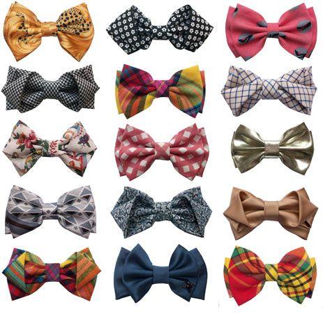 bows by laurentdesgrange    Moi si j'étais un homme....je porterais des noeuds papillons.
