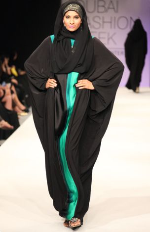 My friend - Farhana Bodi! Dubai Fashion Week
