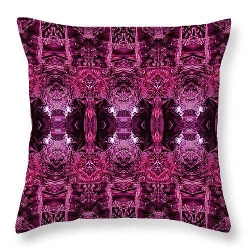 "Decalcomaniac Wallpaper Throw Pillow 14"" x 14"""