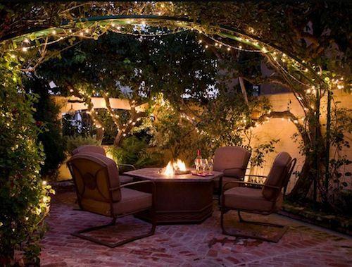 outdoor lighting simple garden lights ideas - Patio Solar Lighting Ideas