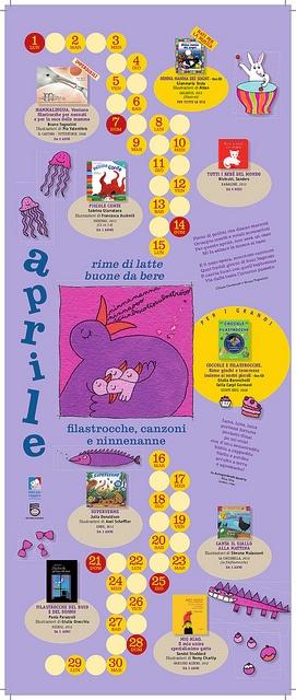 Calendario Nati per Leggere e Nati per Musica in Sardegna 2013: APRILE