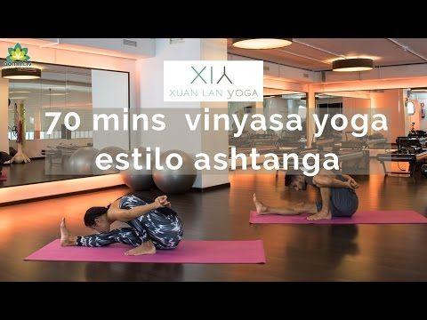 70 mins Yoga Vinyasa inspiracion Ashtanga - YouTube