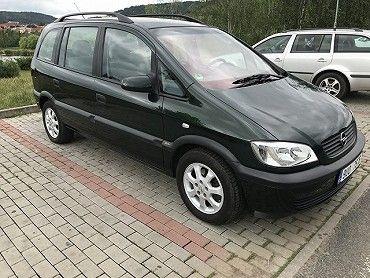 Opel Zafira 1.6,7 sedade, klimatizace
