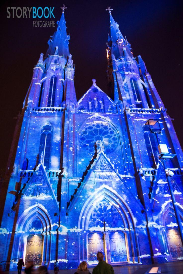 Glow 2014. (Sint Catherine church) - Eindhoven