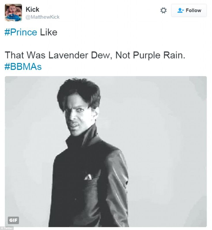 They're not letting up: Some used the lyrics of Prince's song titles to throw further shad...
