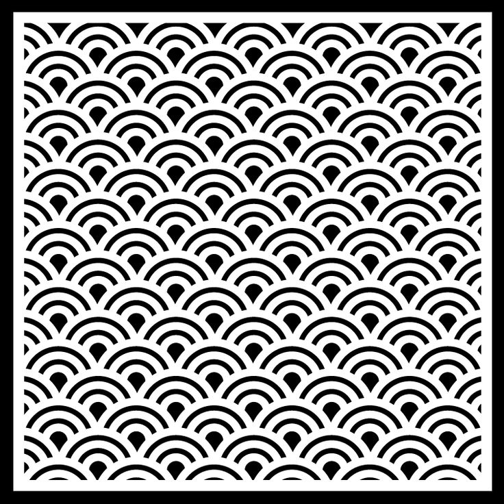 Scallop or Shell type background pattern