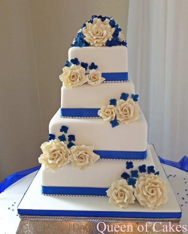 Wedding Cake Ideas Royal Blue: 249 Best Images About Queen Of Cakes Creations On Pinterest