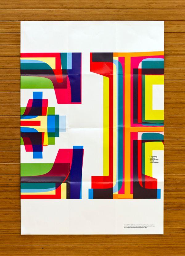Bill Bernbach diversity scholarship posters by Juan Carlos Pagan