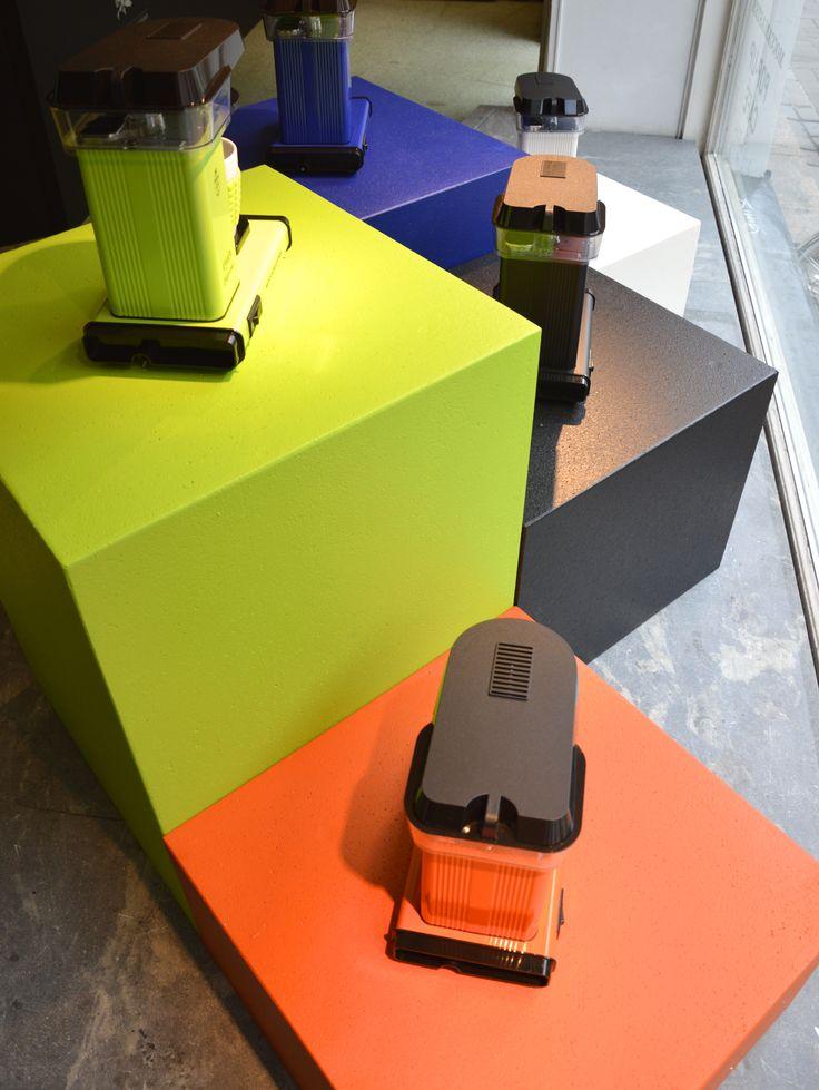 Cup-one Orange, Fresh Green, Matt Black, Royal Blue, Cream White