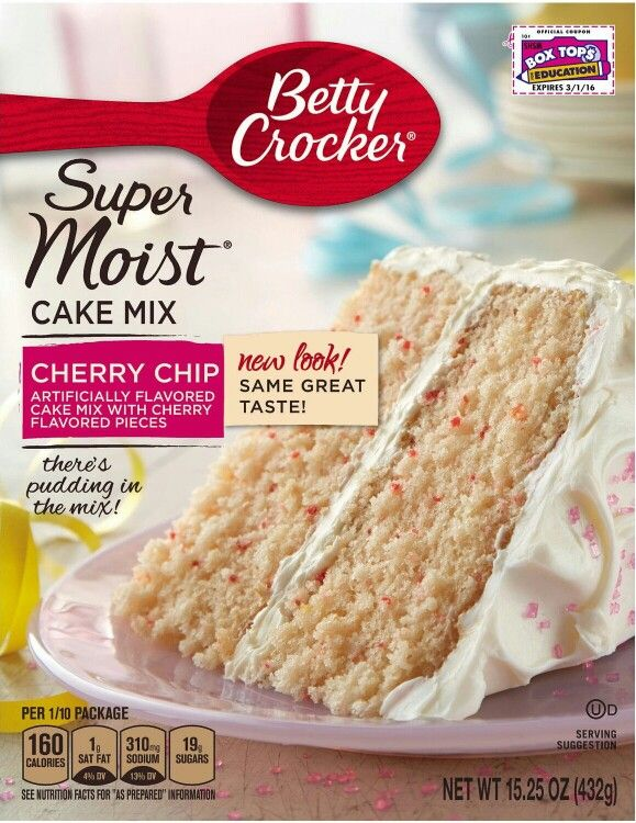 Betty Cooker Strawberry Cake Mix