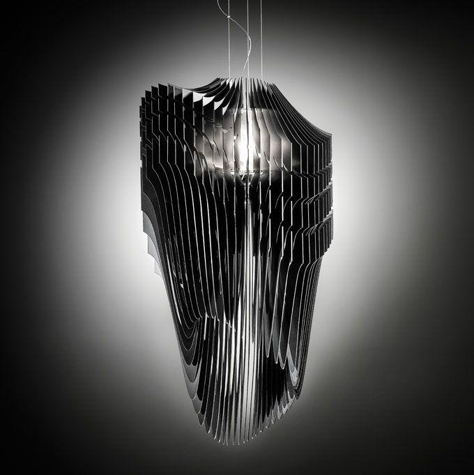 Zaha hadid avia aria lamp for slamp