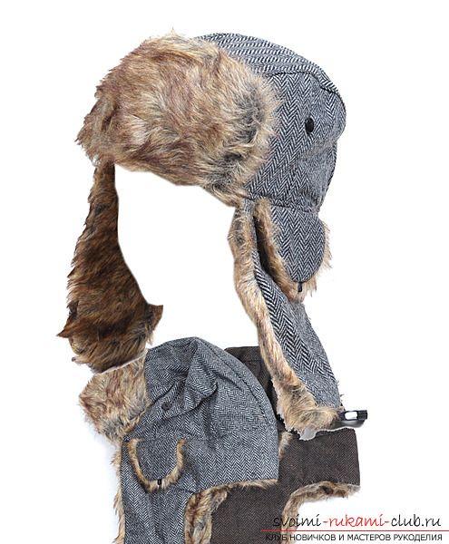 Выкройка зимней шапки - согрейся в самую сильную стужу 17 фотографий