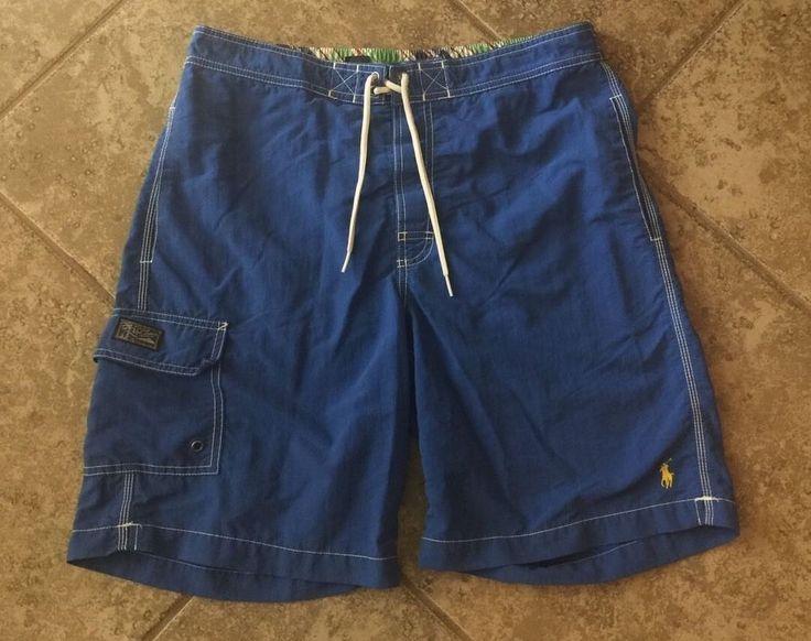 Men's Polo Ralph Lauren Swimwear Small Swim Shorts Trunks #PoloRalphLauren #Trunks
