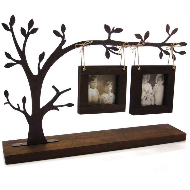 Porta-retrato árvore genealógica.