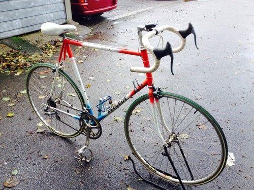 Peugeot U.L.T.I.M.A Retro Vintage Road Racer Bike Reynolds 653 Mavic Shimano 600 | eBay