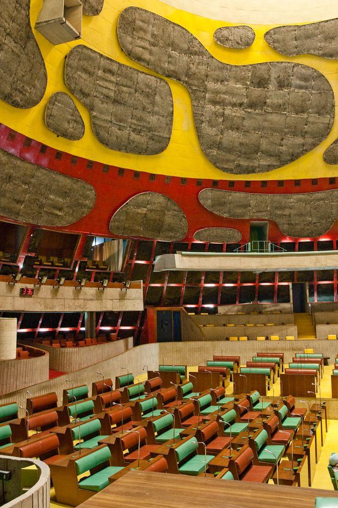 Assembly, Chandigarh India | Le Corbusier | Photo © A Caixa Negra