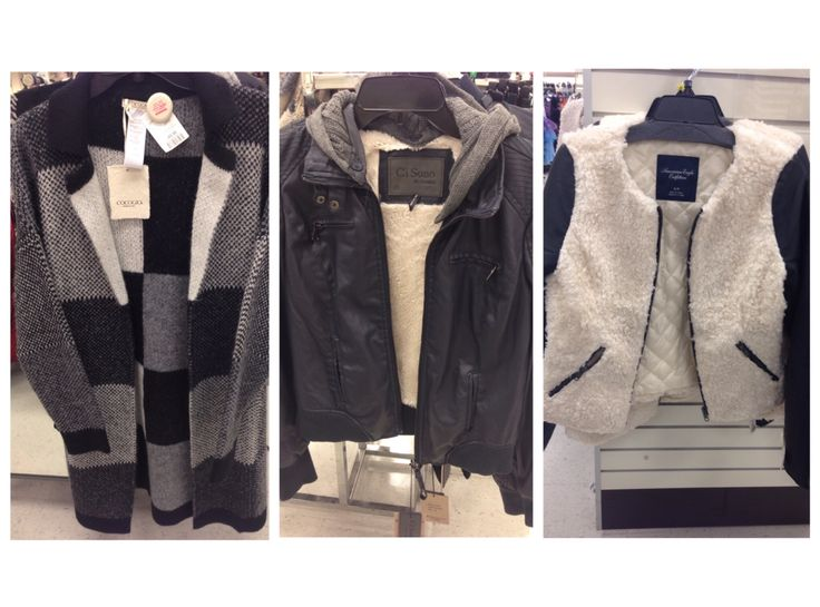 "#WindowShopping #DailyFinds, @winners edition: Fall is in full-throttle with these great fall jackets. Their edgy and chic, but still cozy for this chilly weather.  The first jacket is by a brand called ""Cocogio"" PRICE: $69.99 : @kiimikoh"