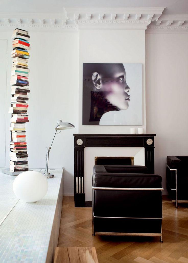 design fireplace un salon avec chemin e nos id es d co