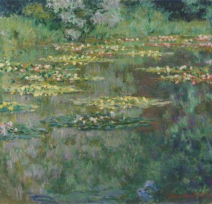 Le Bassin aux Nympheas, par Claude Monet