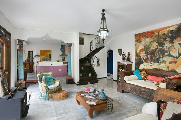 Eclectic Balinese Home
