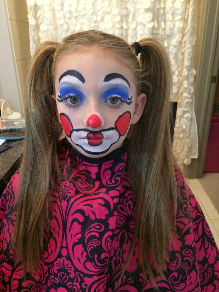 Best 25 Girl Clown Makeup Ideas On Pinterest  Halloween -5511