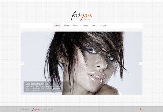 HAIR SALON RESPONSIVE WEB TEMPLATE