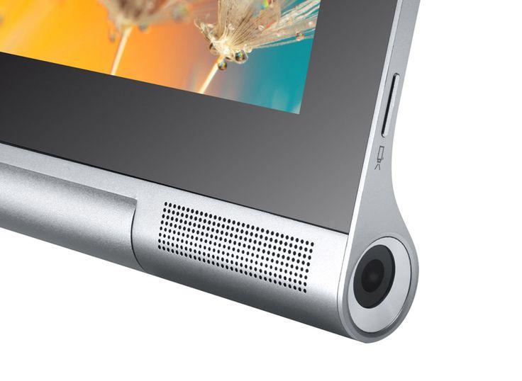 "lenovo yoga tablet 2 pro 180° rotating kickstand projects 50"" displays"