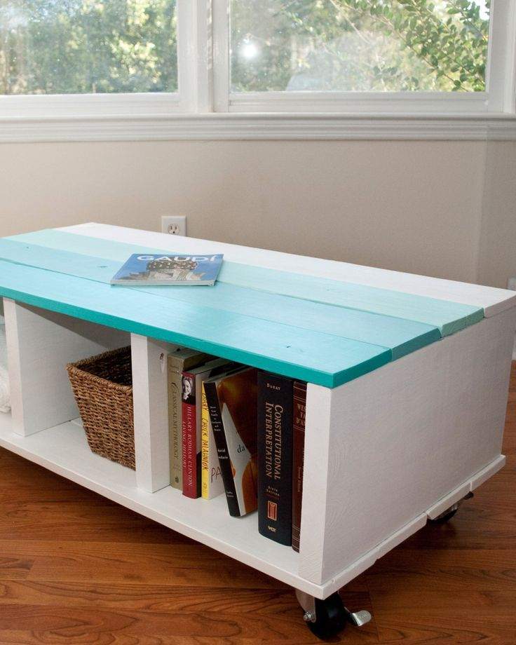 Coffee Table Storage Table Play Table Ombre Table
