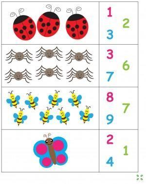 Математические упражнения для дошкольника