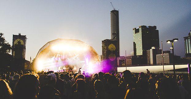 Listen Out Festival @ Cultural Forecourt, South Bank, Brisbane, 06/10/13. Photographer: Dean Swindell.