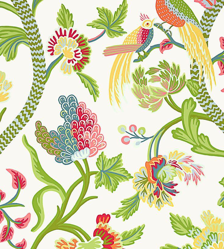 Janta Bazaar Wallpaper by Thibaut www.designerfabricsusa.com Guaranteed Lowest prices online!