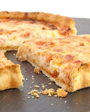 Receta de quiche de pollo y almendras - Deliciosas recetas de cocina con foto: arroz, legumbres, carnes, postres...