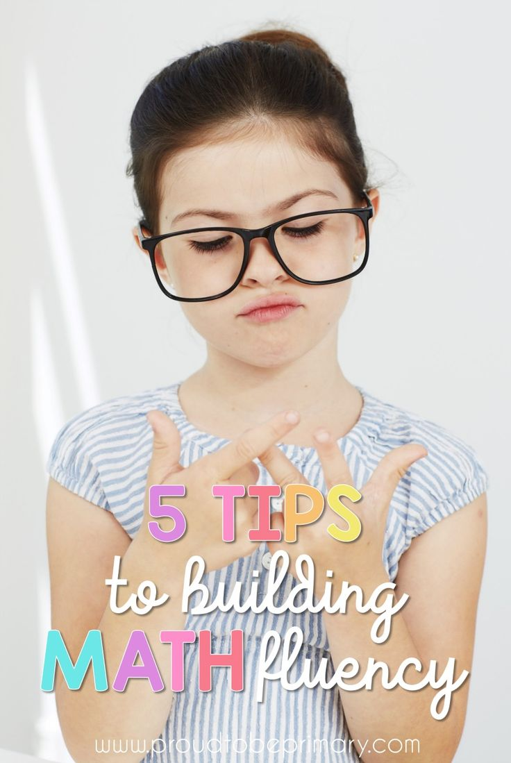 Primary classroom teachers must read these 5 TIPS TO BUILDING MATH FLUENCY to help with setting up daily math routines, lessons, and activities. These learning ideas will help students develop confidence, stay engaged, and build math skills through fun practice like games and centers. It is about more than memorization! via @proud2beprimary