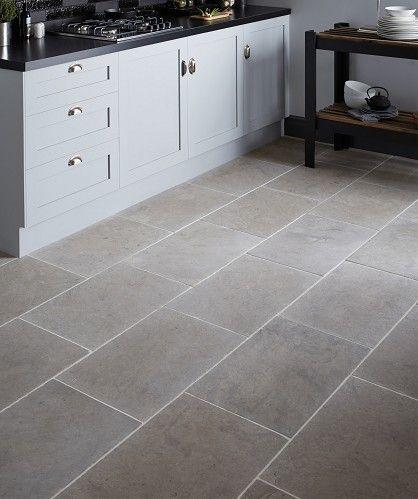 Dorsaf Tumbled Grey Topps Tiles