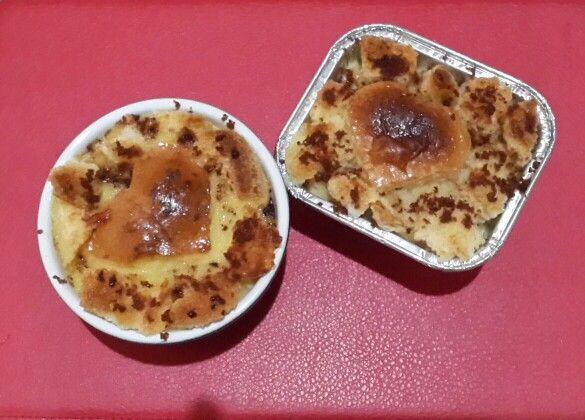 Pimped bread pudding
