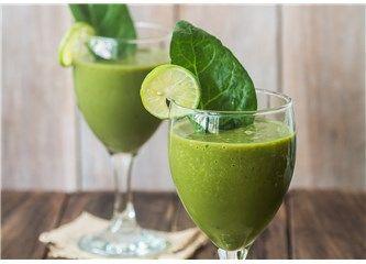 Yeşil Smoothie ile Enerjinizi arttırın