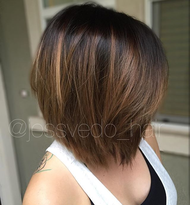 we did a full balayage highlight and then a color melt at the end - Coloration Redken Nuancier