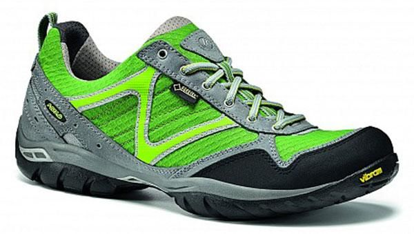 Botas trekking Asolo rebel goretex cloud grey / green. Kitbu