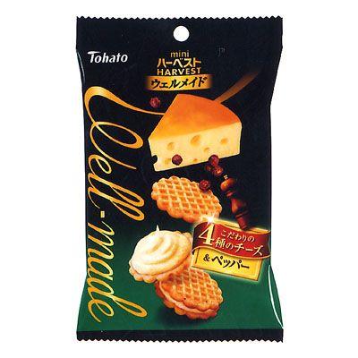 ミニハーベスト ウェルメイド <4種のチーズ&ペッパー> - 食@新製品 - 『新製品』から食の今と明日を見る!