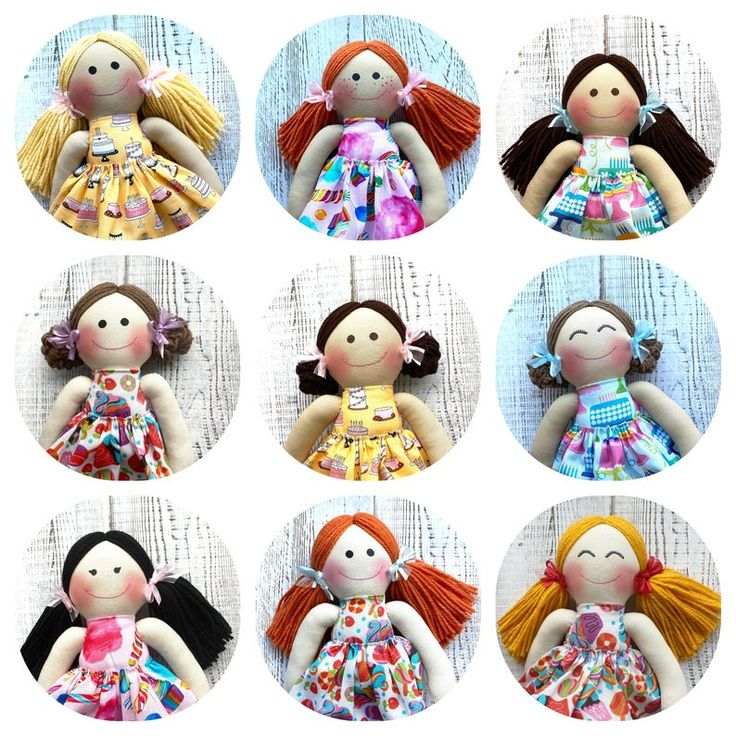First Birthday Doll for Girls Gift 1st First Birthday